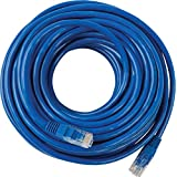 CAT6 Ethernet LAN Network Cable 50 Feet, 23AWG PVC Blue Jacket, UTP Cable