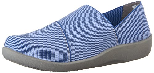 Clarks Cloudsteppers Sillian Firn plana Blue Synthetic