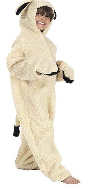 Girls Boys Nativity Sheep Animal Christmas Xmas Play Fancy Dress Costume Outfit