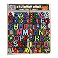 Alphabet and Letters Thick Gel Clings (56 pc) - Reusable and Removable Glass Window Clings for Kids - Gel Decals Create Messages Like Welcome Home, Happy Birthday Home, Airplane, Classroom, Nursery
