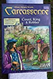 Zman Games Carcassonne Expansion 6 Count, King & Robber