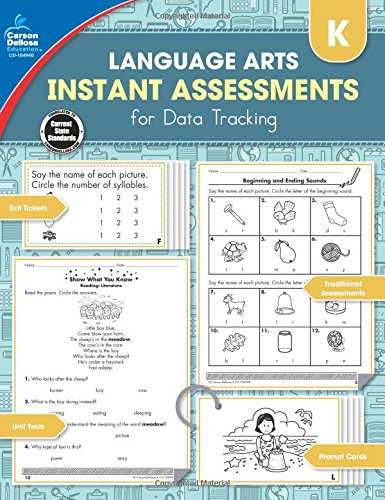 Download Instant Assessments for Data Tracking, Grade K: Language Arts ebook