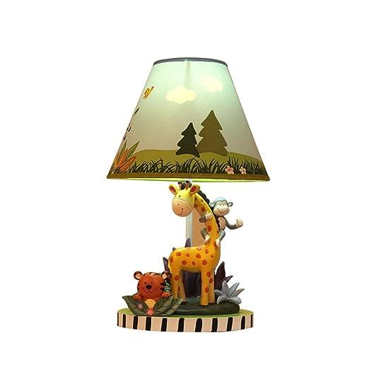 La mejor lámpara de mesa Cálido y encantador Chico de dibujos ...