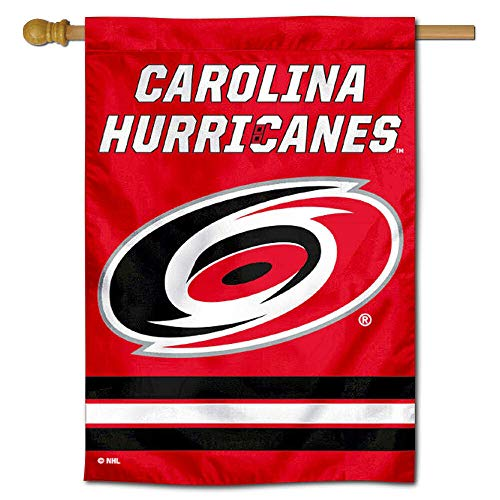 (WinCraft Carolina Hurricanes Double Sided Banner House Flag )