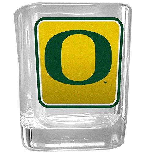 NCAA Oregon Ducks Square Glass Shot Glass