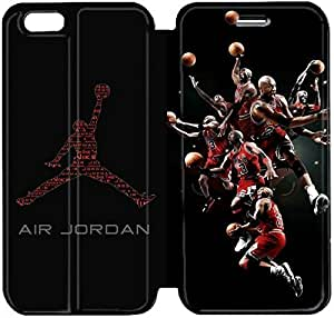 Fashion Style Jordan logo Phone case Thin Slim Flip Leather Case Cover For iPhone 6 4.7 inch OOL2961161