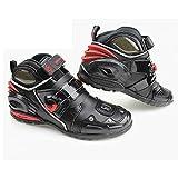 OLizee™ Professional Motorcycle Boots Wear-Resisting Racing Waterproof For Motorcycle Lovers(11 B(M) US)