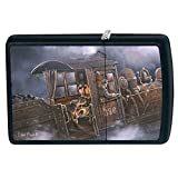 Zippo Blaylock Painting Train Building Steam Lighter Custom Made