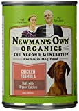 Newman's Own Organic Dog Food, Canned Chicken Formula, 12.7 oz