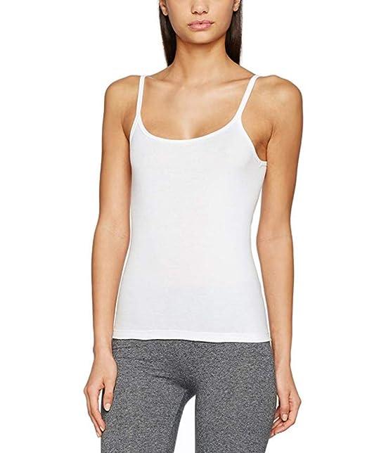 bfdbf8c7 Camiseta de Tirantes para Mujer Liberty (XL) (Blanco): Amazon.es ...