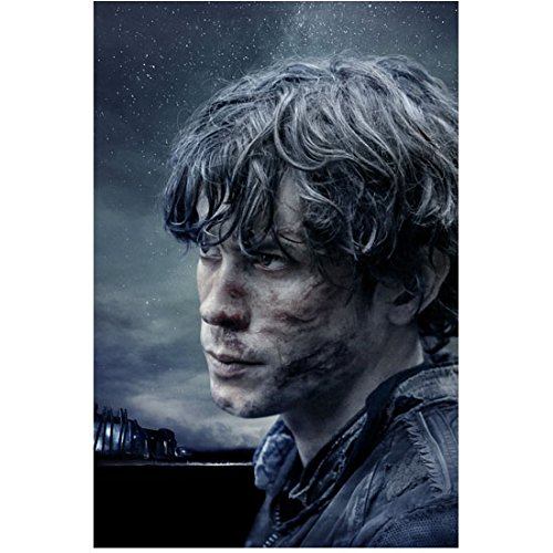 The 100 Bob Morley as Bellamy Blake Head Shot Looking On 8 x 10 Inch Photo - Bellamy Photo