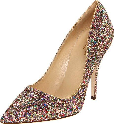 New York High Heels (Kate Spade New York Women's Licorice Too Pump,Multi,7.5 M US)