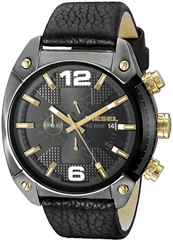 diesel-mens-dz4375-overflow-gunmetal-black-leather-watch