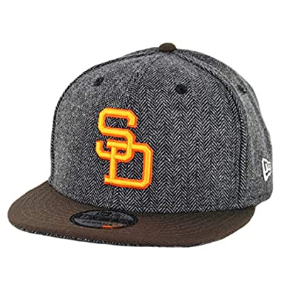 New Era San Diego Padres 9FIFTY MLB Cooperstown Pattern Pop Snapback Hat