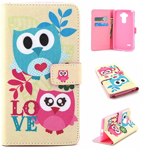 LG LS770 Phone Case,LG Stylo H631 Phone Case,5.7 inch LG Stylo Shell Case,PU Leather Skin Cover Flip Folio Wallet Case Compatible with LG G Stylo Protective Case Cover-Cats -  DETUOSI, MPPN011810US