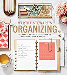 The ultimate guide to getting your life in order—with hundreds of practical and empowering ideas, projects, and tips—from America's most trusted lifestyle authorityTrust Martha to help you master all things organizing—sorting, purging,...