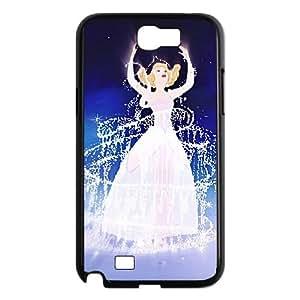 Cinderella II Dreams Come True Samsung Galaxy N2 7100 Cell Phone Case Black S4750173