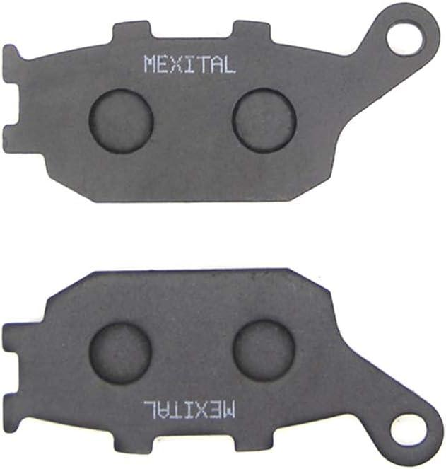 Transalp//3 piston front caliper//ABS MEXITAL 1 Set Motorbike Brake Pads Front and Rear for CBF 600 // XL 700 VA 08-12 MXB388-388-174 07-13 08-11 // CB 600 FA Hornet // CBF 600 SA
