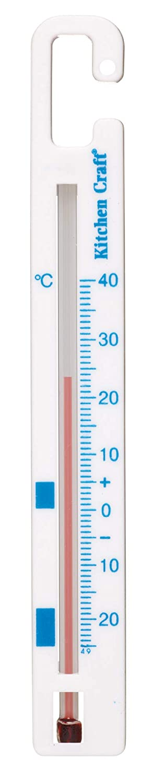 Kitchen Craft Kühlschrank- und Gefrierschrank-Thermometer, Kunststoff KCFRIDGEPLTH