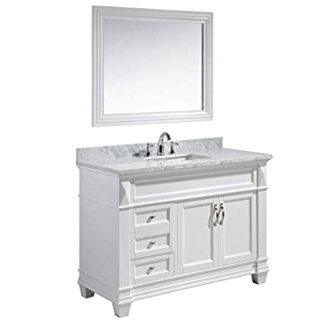 Design Element Dec059b W W Hudson 48 Inch Bathroom Vanity Set In
