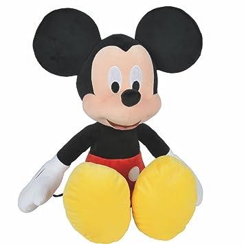 Disney Mickey Mouse - XXL Figura de Peluche - Felpa Softwool 61cm