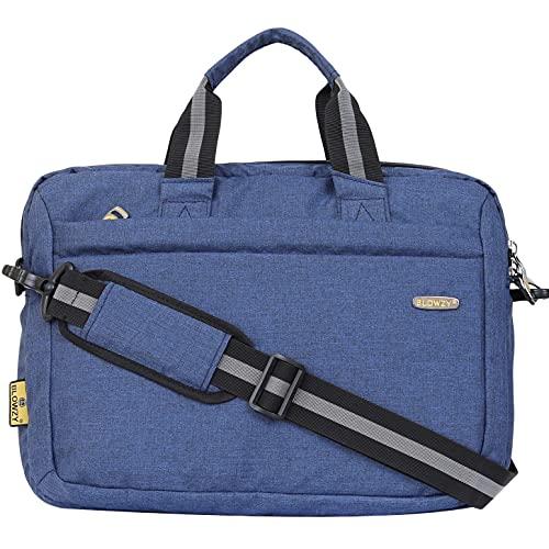 Blowzy Laptop 15.6 Inch sling Waterproof Messenger Bag  Navy Blue
