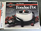 West Bend 2 Quart Electric Fondue Pot 88602