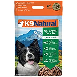 K9 Natural Freeze Dried Dog Food Lamb 8Lb