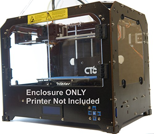 Enclosure for Makerbot Replicator Style 3D Printer