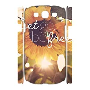 Be Free Custom 3D Cover Case for Samsung Galaxy S3 I9300,diy phone case ygtg581315 Kimberly Kurzendoerfer