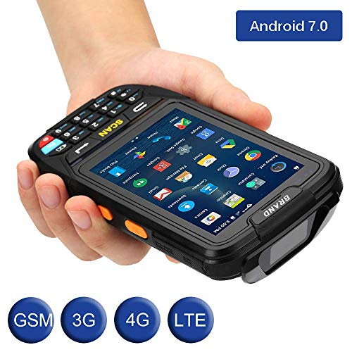 MUNBYN 3G 4G Handheld Android 7.0 POS Terminal with 1D Honeywell Barcode Scanner with Charger Cradle and Touch Screen WiFi BT GPS for Delivery Warehouse Management Shipping by MUNBYN (Image #2)