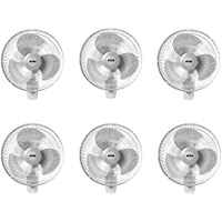 Air King 12 Blade 3-Speed 1/50 HP Motor Oscillating Wall-Mount Fan (6 Pack)