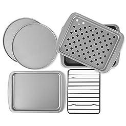 OvenStuff Non-Stick 6-Piece Toaster Oven...