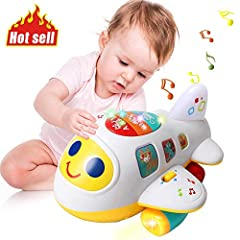It is A Fun & Safe Airplane Toy Set for Toddlers,Boys and Girls.airplane toys for 1 2 3 year old Make the Best Gifts! Babies 12M+ are lively and full of curious to the world.They always like to explore the unknow surrounding by faltering ...