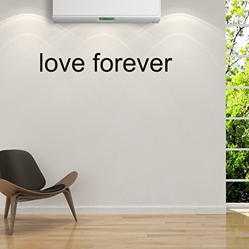 (OTTATAT Wall Stickers for Bedroom Boys 2019,Loveforever DIY Wall Stickers Home Decor Vinyl Art Mural Decal Removable Easy to Peel Christmas for Lover Free)