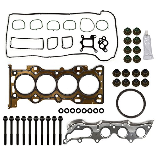 Mazda Cylinder Head (2003 04 05 06 07 08 09 10 11 Mazda Ford Focus 2.0L 2.3L Cylinder Head Gasket Bolts kit)