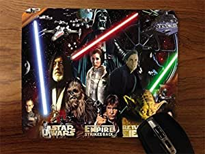 Star Wars Collage Desktop Mouse Pad by icecream design