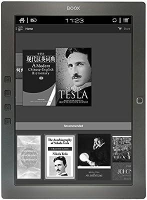 Onyx BOOX M96 Plus - Lector de libros electrónicos con pantalla de 9,7 pulgadas (Bluetooth, 4.0 de baja energía), color negro: Amazon.es: Electrónica