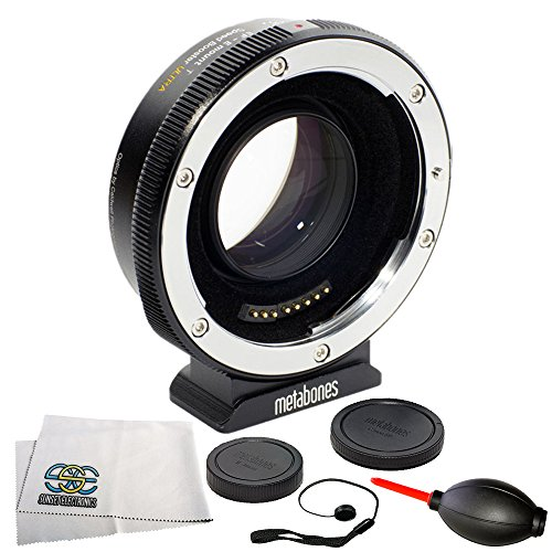 Metabones Canon EF to Sony E-Mount T Speed Booster ULTRA II 0.71x (Fifth Generation) 6PC Accessory Bundle – Includes Manufacturer Accessories + MORE by SSE
