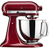 KitchenAid 5 Quart Artisan Stand Mixer - Ruby Red