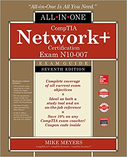 comptia network+ certification all-in-one exam guide, seventh ...