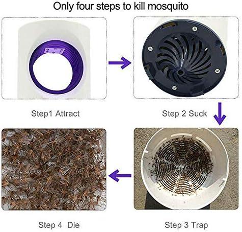 Interior Eurobuy L/ámpara Antimosquitos para Jard/ín USB Asesino de Mosquito Sin Radiaci/ón Port/átil LED Electrico Repelente Mosquitos Lampara No T/óxicos Camping Hogar Sin Productos Qu/ímicos