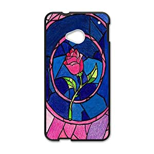 Unique beautiful pink flower Cell Phone Case for HTC One M7