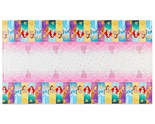 Plastic Table Cover | Disney Princess Dream Big Collection | Party Accessory for $<!--$2.79-->