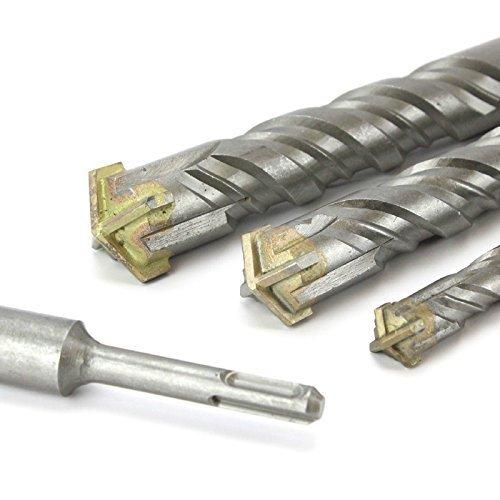 ladrillo alba/ñiler/ía Hormig/ón 35mm x 800mm Cabeza CRUZADA TCT SDS Plus martillo percutor brocas
