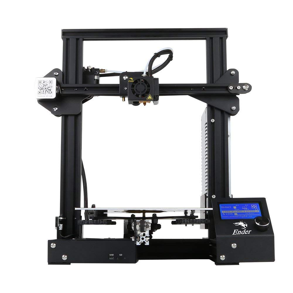 Creality Original Ender 3 3D Printer Aluminum DIY with Resume Printing Function 220x220x250mm