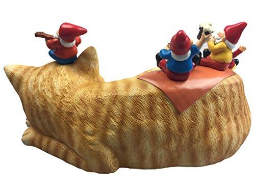By-Mark-Margot-Outdoor-Garden-Gnomes-Picnic-Sleeping-Cat