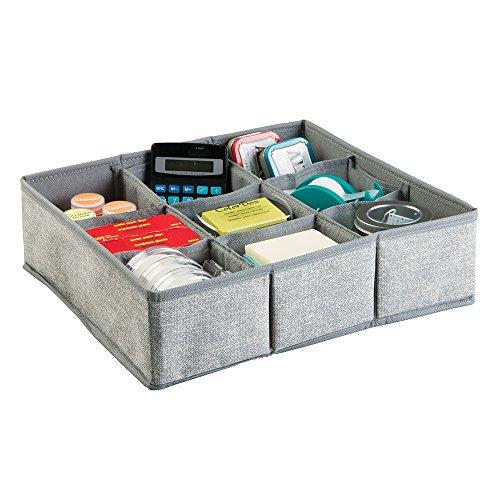 mDesign Storage Organizer Supplies Notepads