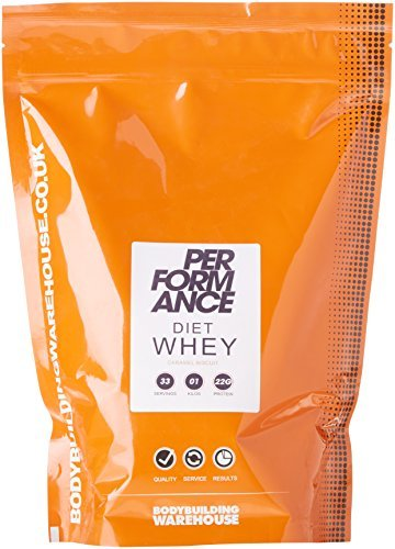 Bodybuilding Warehouse Performance Diet Whey V2 Powder Caramel Biscuit 1 kg by Bodybuilding Warehouse by Bodybuilding Warehouse