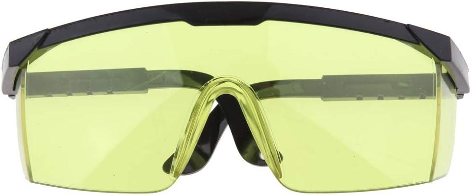 Gafas De Protección De Seguridad Para Los Ojos Gafas Para Soldar - Amarillo, 15X5X4CM